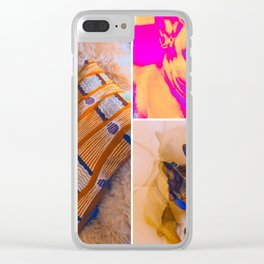 Tuna Tiles Clear iPhone Case