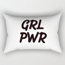 GRL PWR - Girl Power Rectangular Pillow