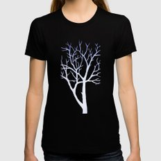 Tree Womens Fitted Tee Black X-LARGE