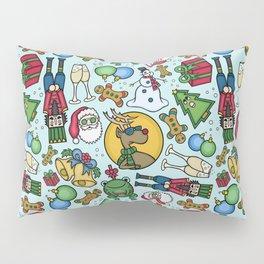 Crazy Christmas Pillow Sham