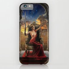 XI. Justice Tarot Card Illustration (Color) Slim Case iPhone 6s
