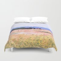 horses Duvet Covers featuring Horses  by Truly Juel