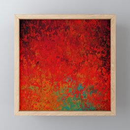 Figuratively Speaking, Abstract Art Framed Mini Art Print
