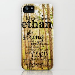 Ethan strong iPhone Case