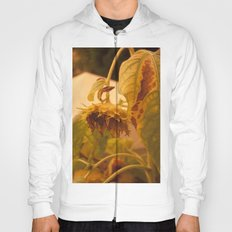 The Sun has Set and tomorrow, God willing, it will rise again [SUNFLOWER] [WILTING] [YELLOW SKY]  Hoody