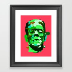 Frank. Framed Art Print
