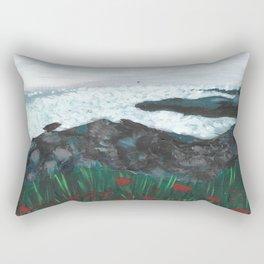 Where the roses grow Rectangular Pillow