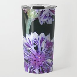 Bachelor Button from the Frosted Queen Mix Travel Mug