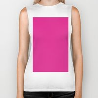 barbie Biker Tanks featuring Barbie pink by List of colors