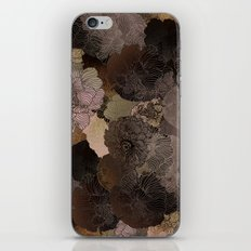 vintage floral shades iPhone Skin