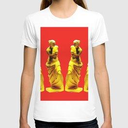 red gold venus T-shirt