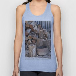 The Camp Fire Unisex Tank Top