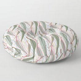 Bush Eucalyptus Pattern Floor Pillow