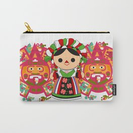 Maria 5 (Mexican Doll) Carry-All Pouch