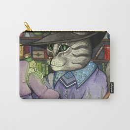 A Cat's Magic Carry-All Pouch