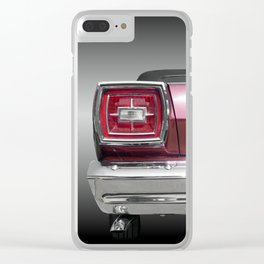 US American classic car 1966 galaxie 500 convertible Clear iPhone Case