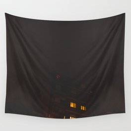 Luces rojas Wall Tapestry