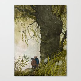 The Wind in the Willows Canvas Print