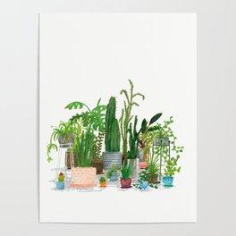 Plant Family Portrait Poster