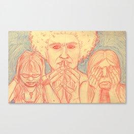 Sinful Ways Canvas Print