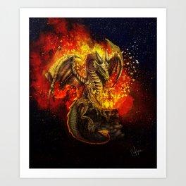 The bringer of light Art Print