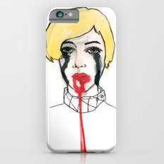 Pain - the look when you are mentally stress out - to death. iPhone 6s Slim Case