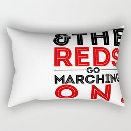 Glory, Glory Man United Rectangular Pillow