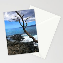 Secret Tropical Cove in Maui, Hawaii Stationery Cards