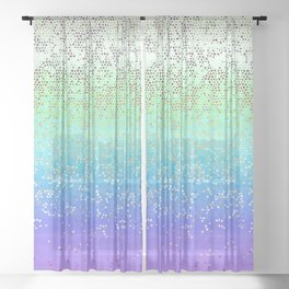 Glitter Star Dust G242 Sheer Curtain