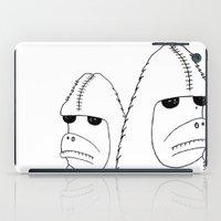 sasquatch iPad Cases featuring Sasquatch by NarwhalWolf