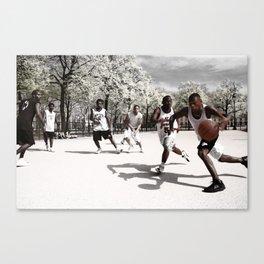 Ball Game Canvas Print