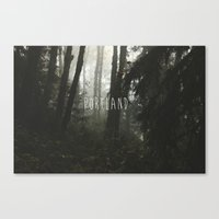 portland Canvas Prints featuring Portland  by AnthonyHelms