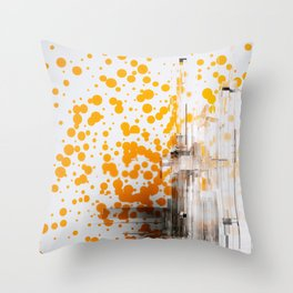 Icey Throw Pillow