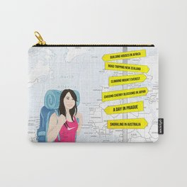 All the opportunities in life. By Priscilla Li Carry-All Pouch