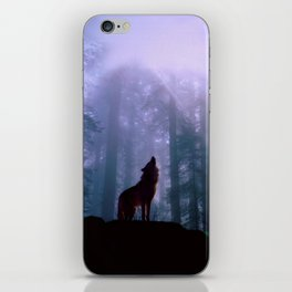 Wolf in the Woods iPhone Skin