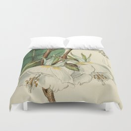 Edwards' Botanical Register Duvet Cover