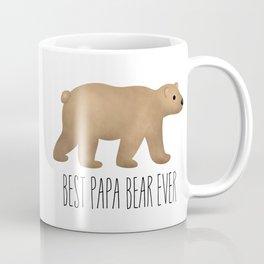 Best Papa Bear Ever Coffee Mug