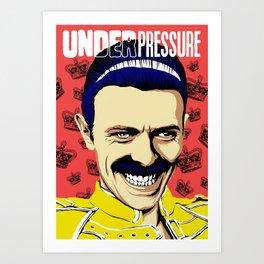 Under Pressure. Art Print