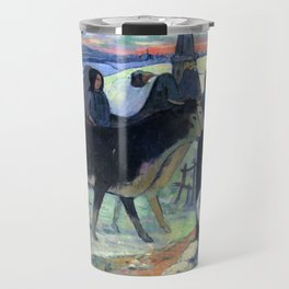 "Paul Gauguin ""Christmas night"" Travel Mug"