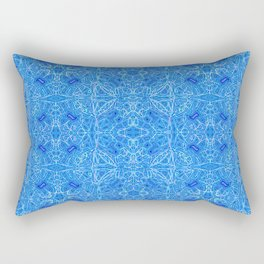 Blue pattern ... Rectangular Pillow