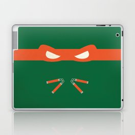 Orange Ninja Turtles Michelangelo Laptop & iPad Skin