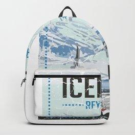 Iceland Reykjavik Nature Nature Lover Gift Backpack