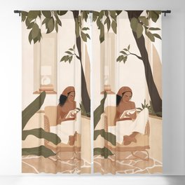 Be a Work In Progress Blackout Curtain