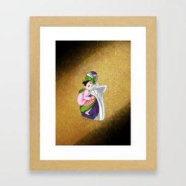 Piccolo and Pan Framed Art Print