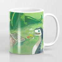 bouletcorp Mugs featuring Spring by Bouletcorp
