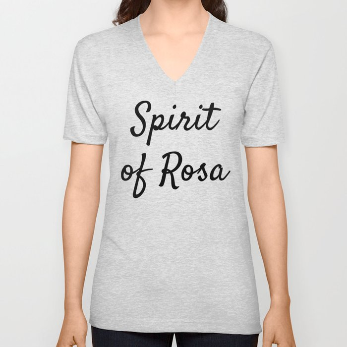 Spirit of Rosa Unisex V-Neck