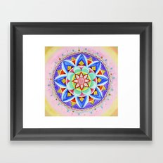 'We Are One' Mandala Framed Art Print