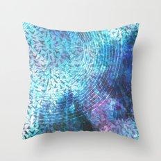 Bird Cosmos Throw Pillow