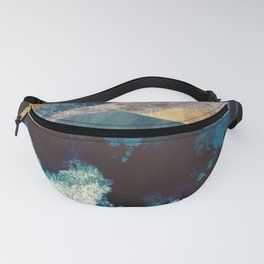 Blue Mountain Reflection Fanny Pack