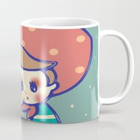 games Mugs featuring Girl games by littlestar cindy